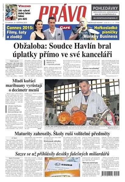 Právo - 21-05-2015 - Elektronické noviny
