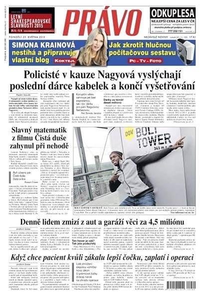 Právo - 25-05-2015 - Elektronické noviny