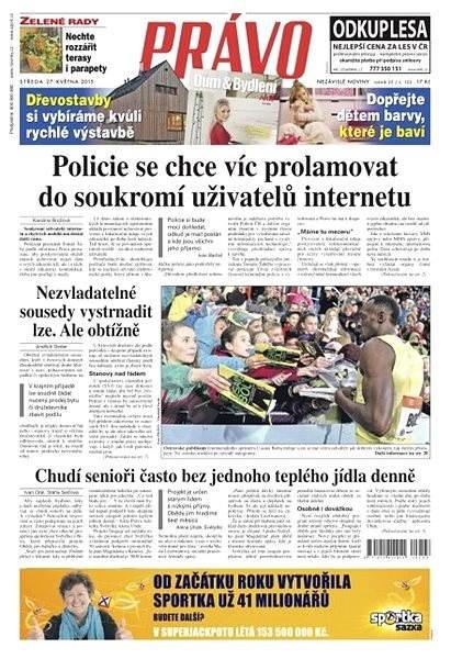 Právo - 27-05-2015 - Elektronické noviny