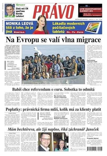 Právo - 01-06-2015 - Elektronické noviny