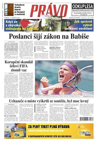 Právo - 03-06-2015 - Elektronické noviny