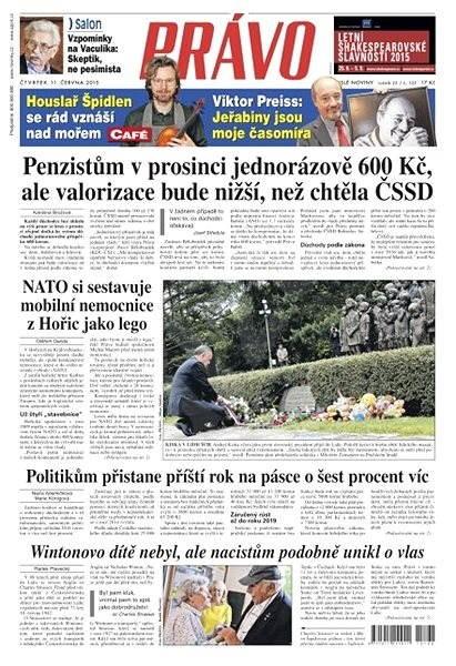 Právo - 11-06-2015 - Elektronické noviny