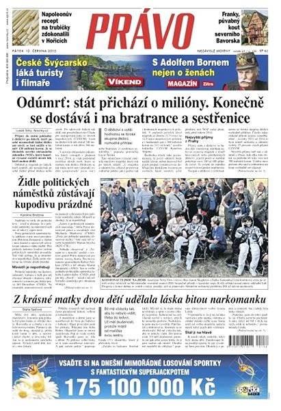 Právo - 12-06-2015 - Elektronické noviny