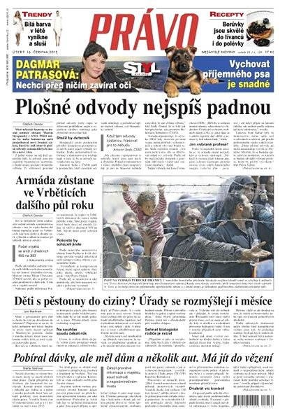Právo - 16-06-2015 - Elektronické noviny