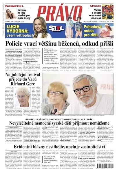 Právo - 23-06-2015 - Elektronické noviny