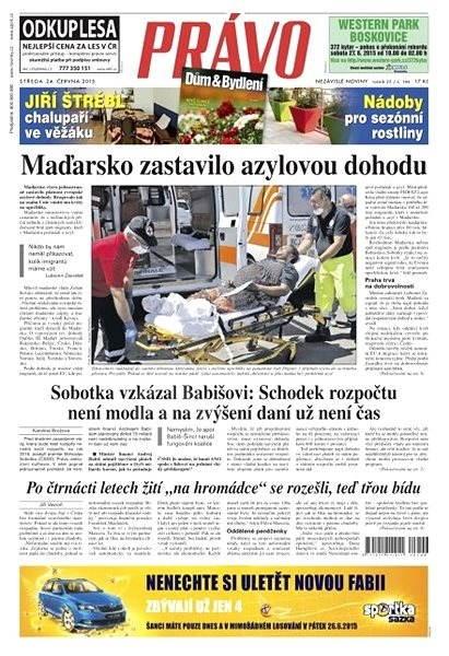 Právo - 24-06-2015 - Elektronické noviny