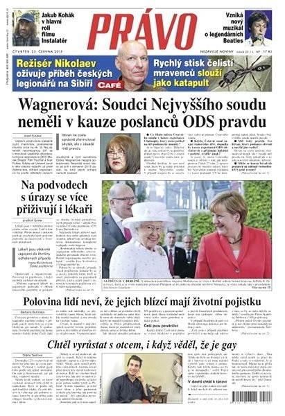 Právo - 25-06-2015 - Elektronické noviny