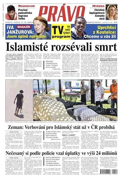Právo - 27-06-2015 - Elektronické noviny
