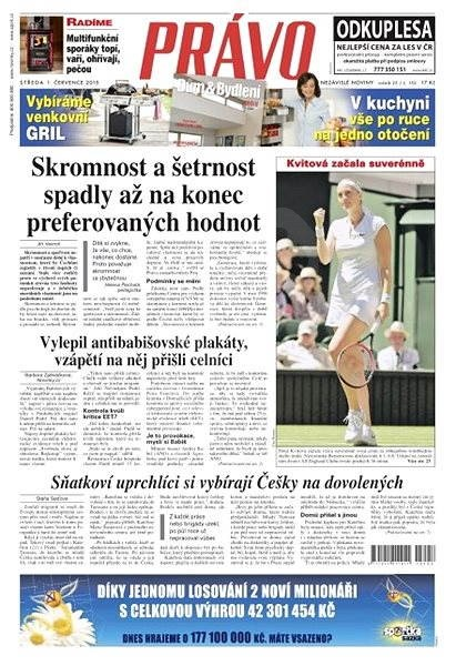Právo - 01-07-2015 - Elektronické noviny