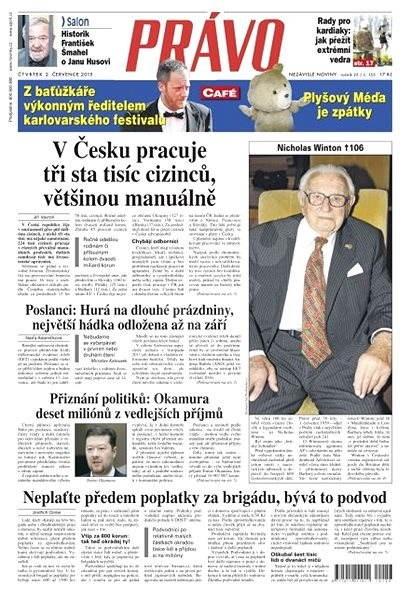 Právo - 02-07-2015 - Elektronické noviny