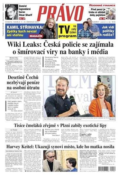 Právo - 11-07-2015 - Elektronické noviny