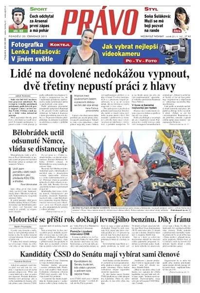 Právo - 20-07-2015 - Elektronické noviny