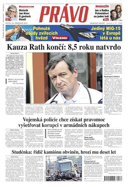 Právo - 24-07-2015 - Elektronické noviny