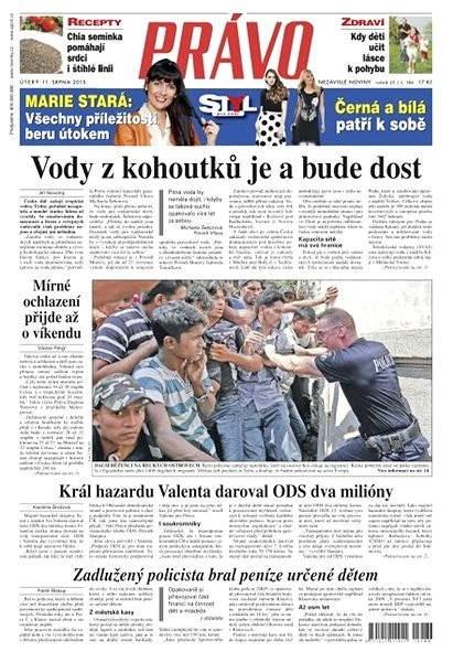 Právo - 11-08-2015 - Elektronické noviny