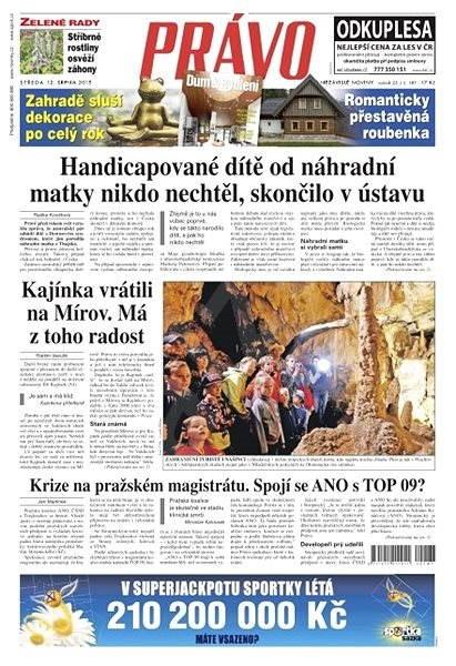 Právo - 12-08-2015 - Elektronické noviny