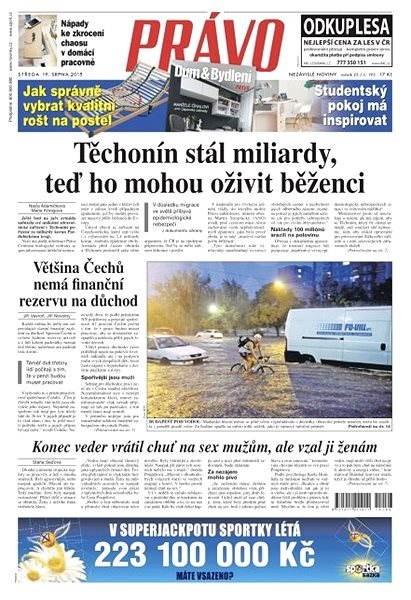 Právo - 19-08-2015 - Elektronické noviny