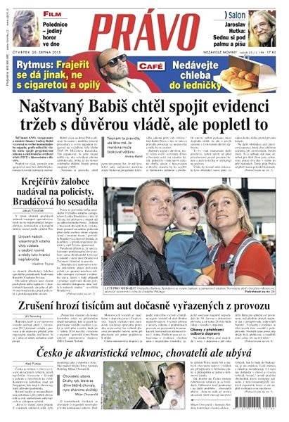 Právo - 20-08-2015 - Elektronické noviny