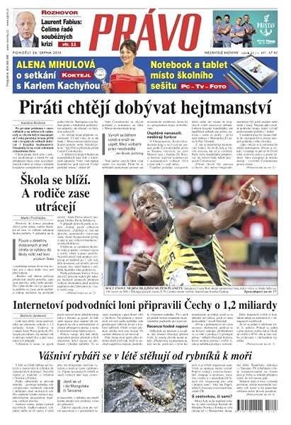 Právo - 24-08-2015 - Elektronické noviny