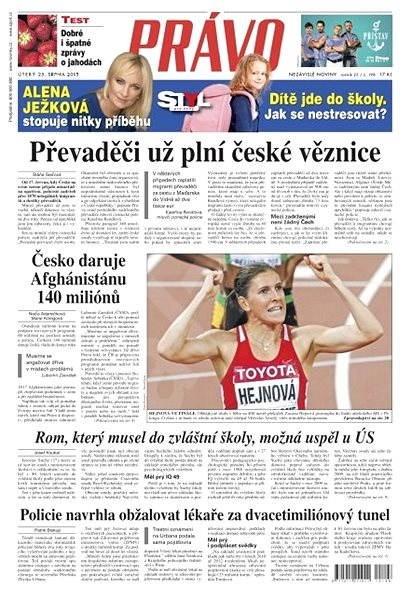 Právo - 25-08-2015 - Elektronické noviny