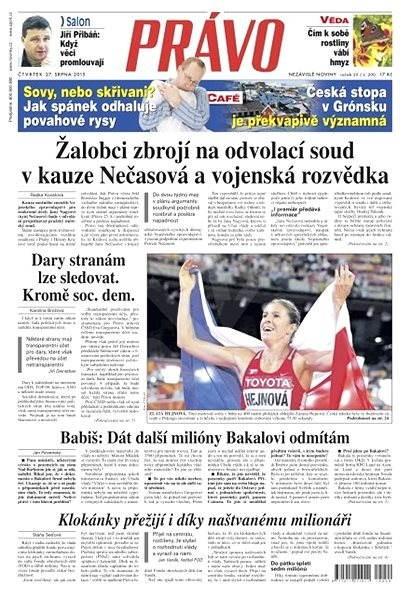 Právo - 27-08-2015 - Elektronické noviny