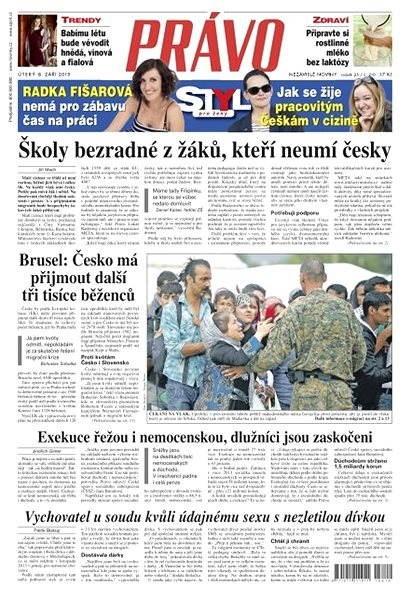 Právo - 08-09-2015 - Elektronické noviny