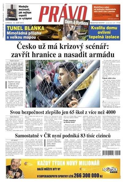 Právo - 16-09-2015 - Elektronické noviny