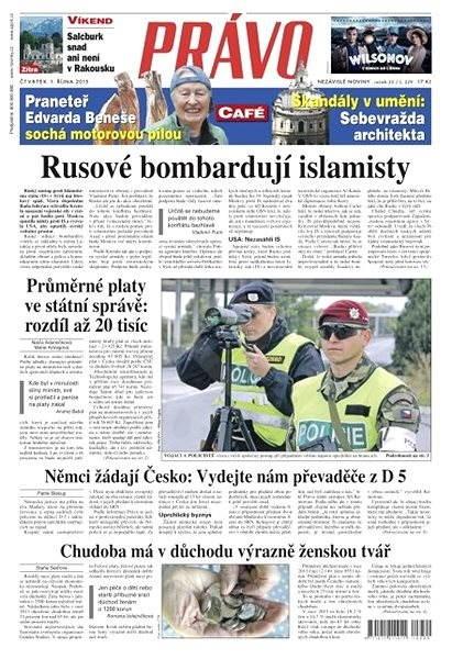 Právo - 01-10-2015 - Elektronické noviny