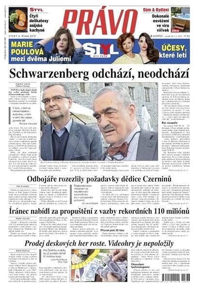 Právo - 06-10-2015 - Elektronické noviny
