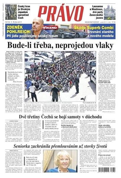 Právo - 09-10-2015 - Elektronické noviny