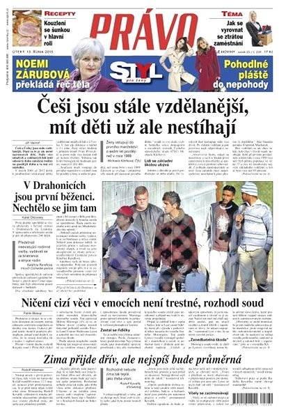 Právo - 13-10-2015 - Elektronické noviny