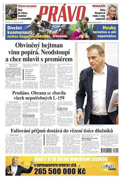 Právo - 16-10-2015 - Elektronické noviny