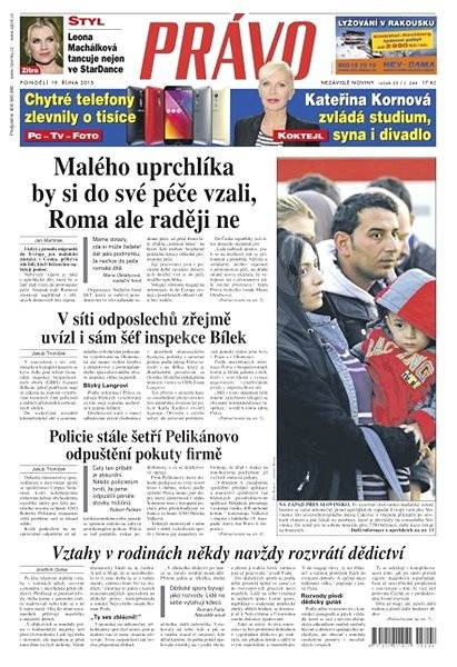 Právo - 19-10-2015 - Elektronické noviny