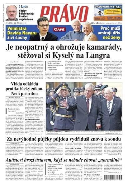 Právo - 22-10-2015 - Elektronické noviny
