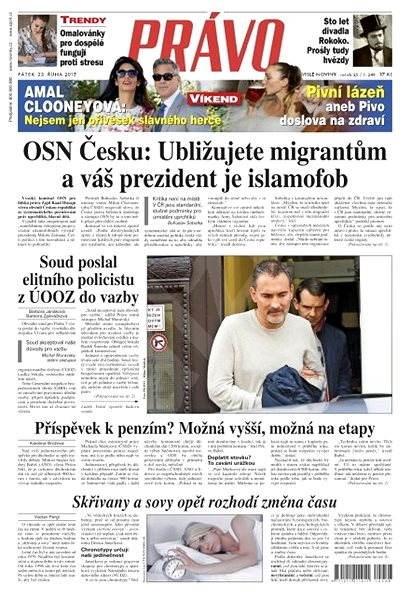 Právo - 23-10-2015 - Elektronické noviny