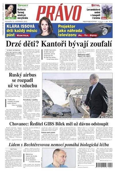 Právo - 02-11-2015 - Elektronické noviny