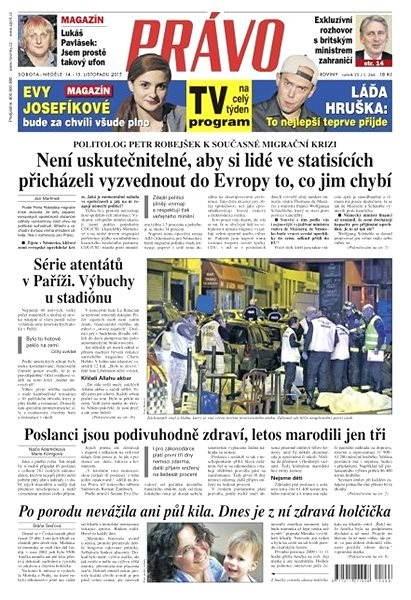 Právo - 14-11-2015 - Elektronické noviny