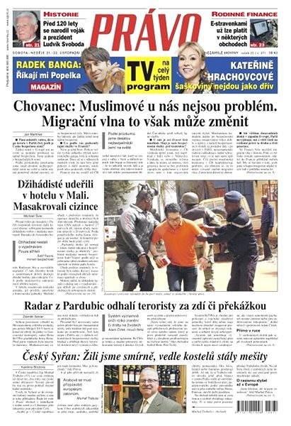Právo - 21-11-2015 - Elektronické noviny