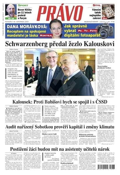 Právo - 30-11-2015 - Elektronické noviny
