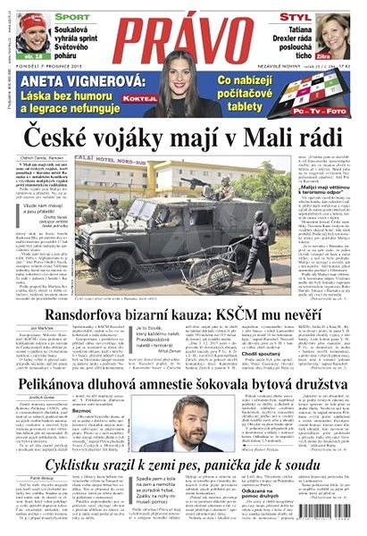 Právo - 07-12-2015 - Elektronické noviny