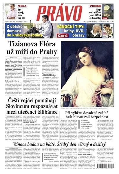 Právo - 10-12-2015 - Elektronické noviny