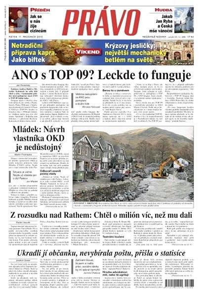 Právo - 11-12-2015 - Elektronické noviny