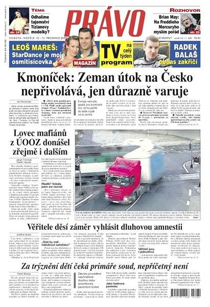 Právo - 12-12-2015 - Elektronické noviny