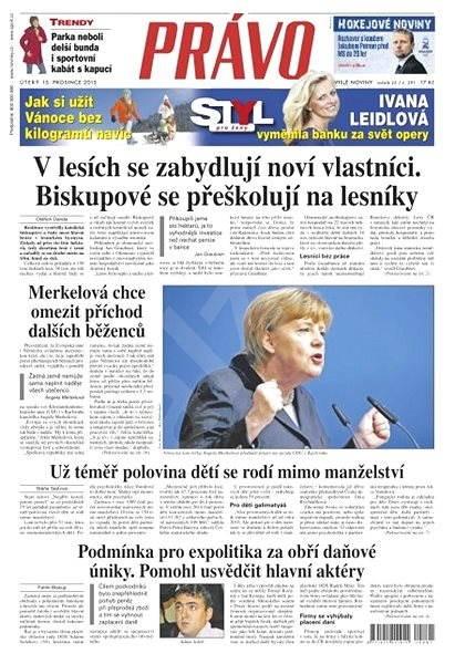 Právo - 15-12-2015 - Elektronické noviny