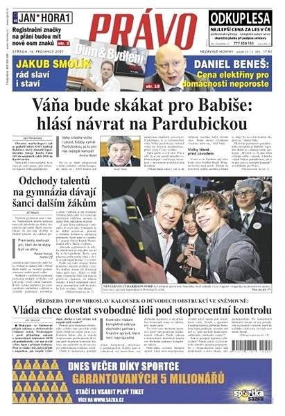 Právo - 16-12-2015 - Elektronické noviny