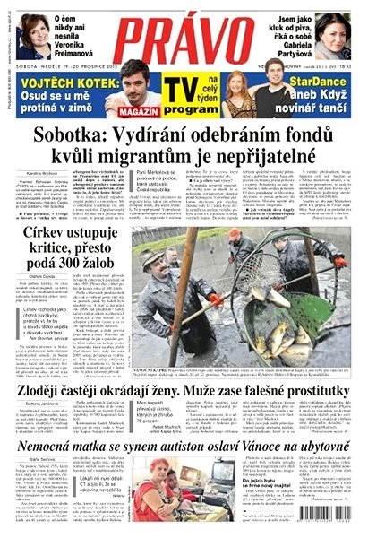 Právo - 19-12-2015 - Elektronické noviny