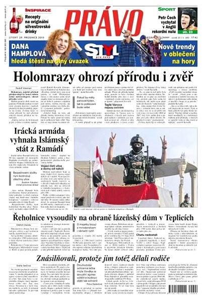 Právo - 29-12-2015 - Elektronické noviny