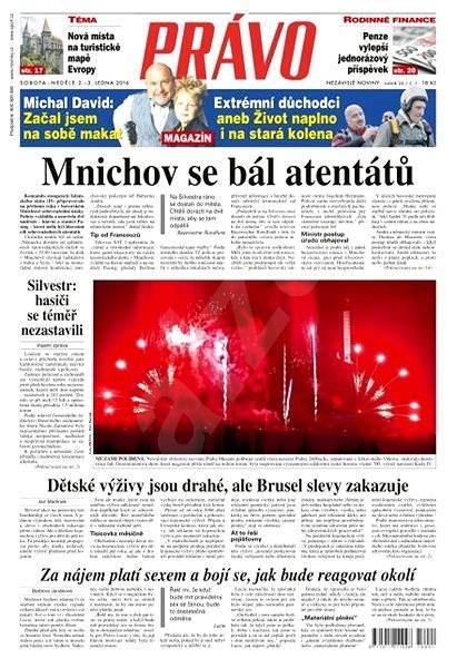 Právo - 02-01-2016 - Elektronické noviny