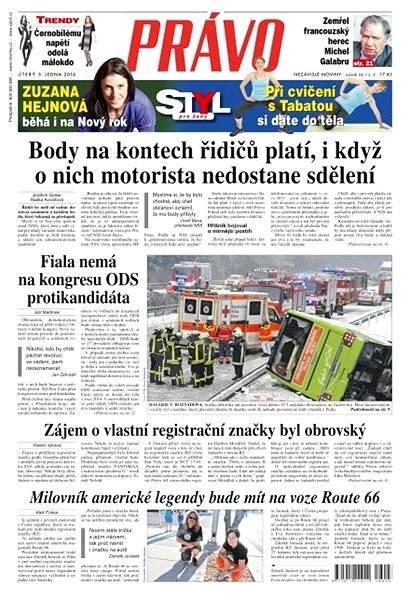 Právo - 05-01-2016 - Elektronické noviny