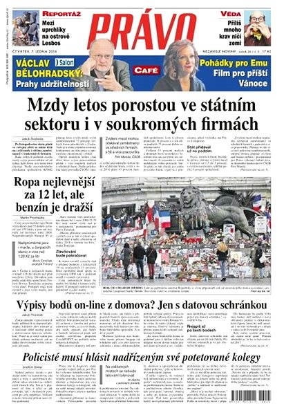 Právo - 07-01-2016 - Elektronické noviny