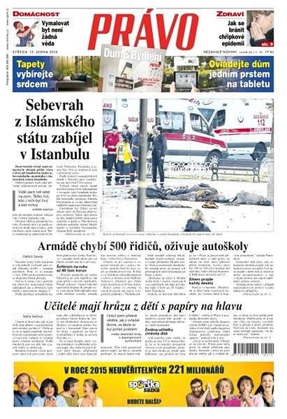 Právo - 13-01-2016 - Elektronické noviny